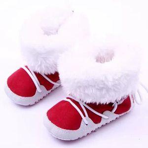 Nouvel automne hiver bowknot garder chaud Mode enfants épaississement des filles bottes de neige oAbiZZ