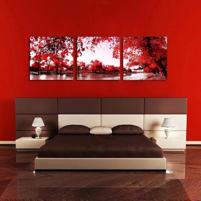 3 Panneaux De Toile Non Encadrés Peinture Moderne Image Murale Images Pour  Salon Wall Art Imprimé Sur Cuadros Accueil Deocr