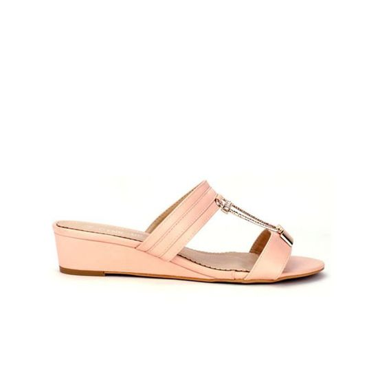 Chaussures Compensées pieds Sandale Nu Rose Cendriyon Femme xpIwEqZ4w ... 7c0b553831d