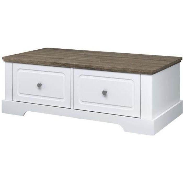 Table basse avec tiroir - Achat   Vente pas cher fd5621622457