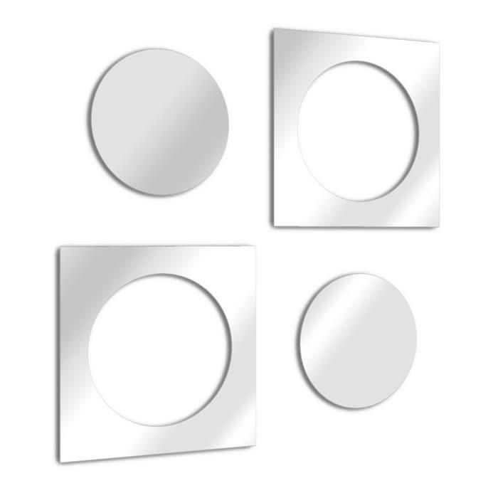 miroir design rond achat vente pas cher. Black Bedroom Furniture Sets. Home Design Ideas