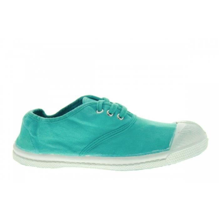 Baskets mode - Bensimon Lacets Turquoise