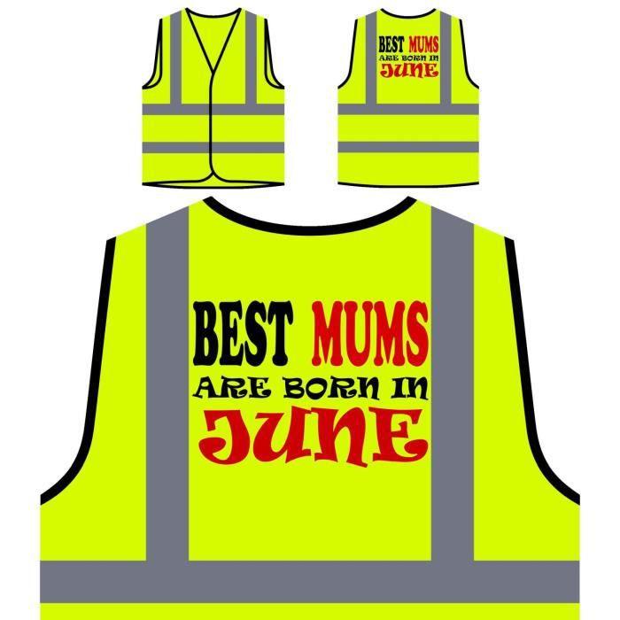 Nommes En Jaune les P Mums Juin Meilleurs À De Visibilité Personnalisée Funny Sont Protection Haute Veste PExFw7qfw