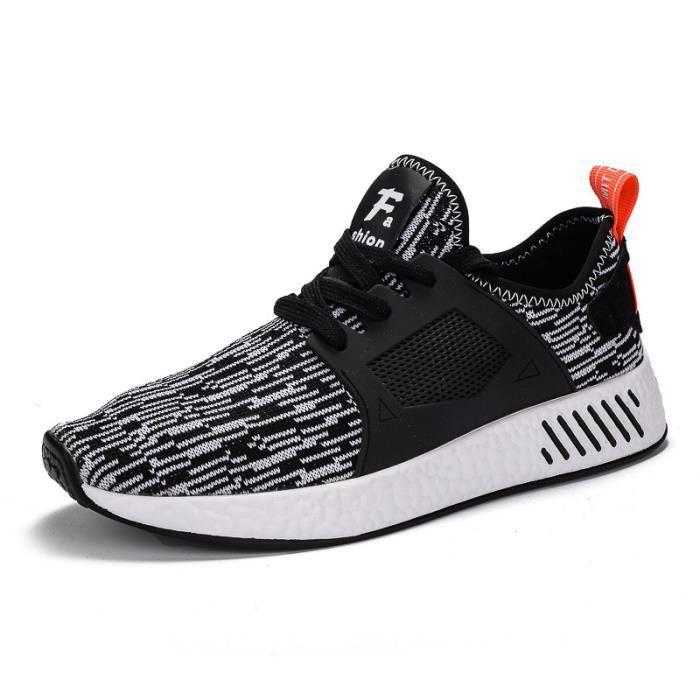 Chaussures de sport pour hommes respirant chaussures mode casual otksH