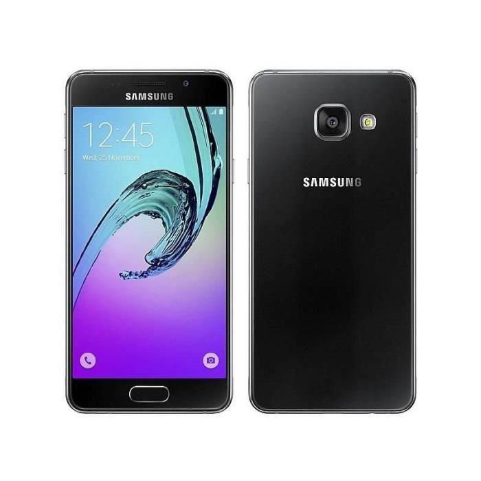 samsung a510 galaxy a5 2016 noir achat smartphone pas cher avis et meilleur prix soldes. Black Bedroom Furniture Sets. Home Design Ideas