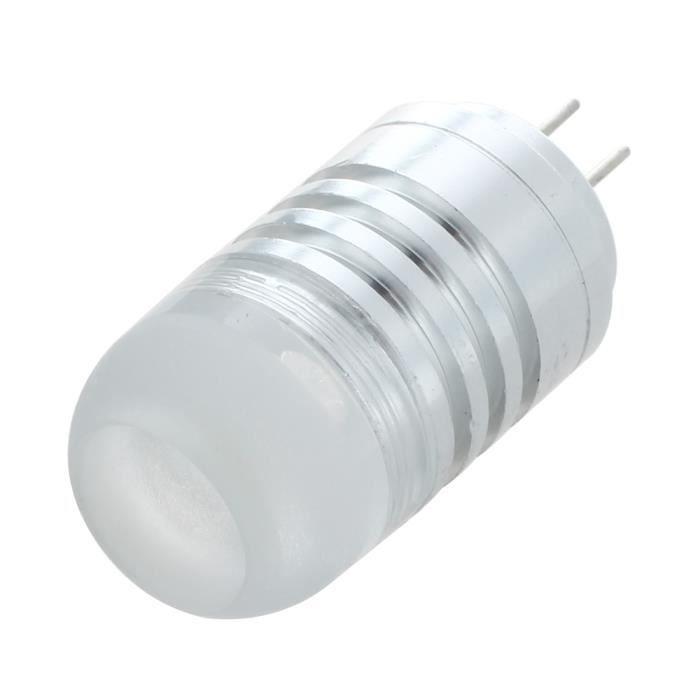SODIAL(R) G4 COB 3W LED Lampe Ampoule eclairage lumiere blanche DC-AC12V
