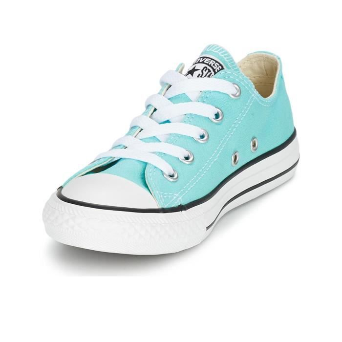 CHAUSSURES BASIC BASSE TOILE FEM TURQUOISE - Converse
