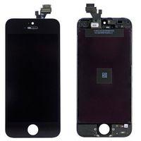 ECRAN DE TÉLÉPHONE Écran LCD et vitre tactile  iPhone 5S noir
