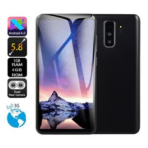 SMARTPHONE 5,8 pouces double caméra HD Android 6.0 1G + 4G GP