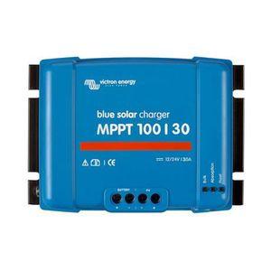 KIT PHOTOVOLTAIQUE Régulateur de charge solaire MPPT 30A 12/24V Blues