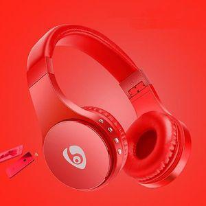 CASQUE - ÉCOUTEURS OVLENG Bluetooth casque sans fil PC téléphone musi