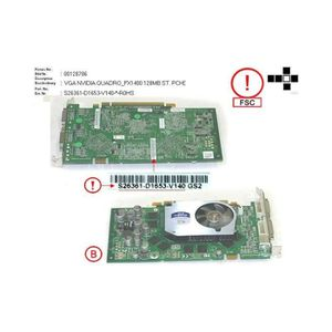 CARTE GRAPHIQUE INTERNE S26361-D1653-V140 Carte video Fujitsu