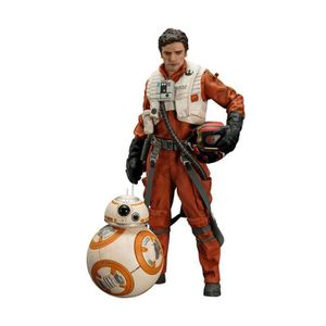 FIGURINE - PERSONNAGE Pack 2 statuettes Star Wars Episode VII : Poe Dame