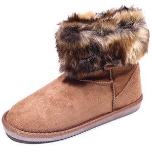 BOTTINE Boots Parrisa Winter Marron Femme Pieces