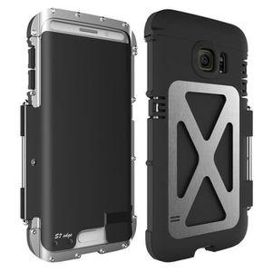 ARMOR KING Housse de protection durable Housse antidéflagrante  anti-poussière pour Samsung Galaxy S7 Argent + Noir 3777a7af86f8