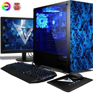 UNITÉ CENTRALE + ÉCRAN VIBOX Killstreak SA8-217 PC Gamer Ordinateur avec