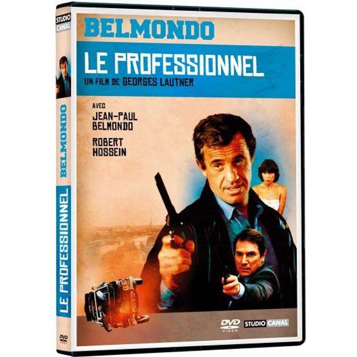 Dvd le professionnel en dvd film pas cher lautner georges for Decorateur professionnel 3 en 1