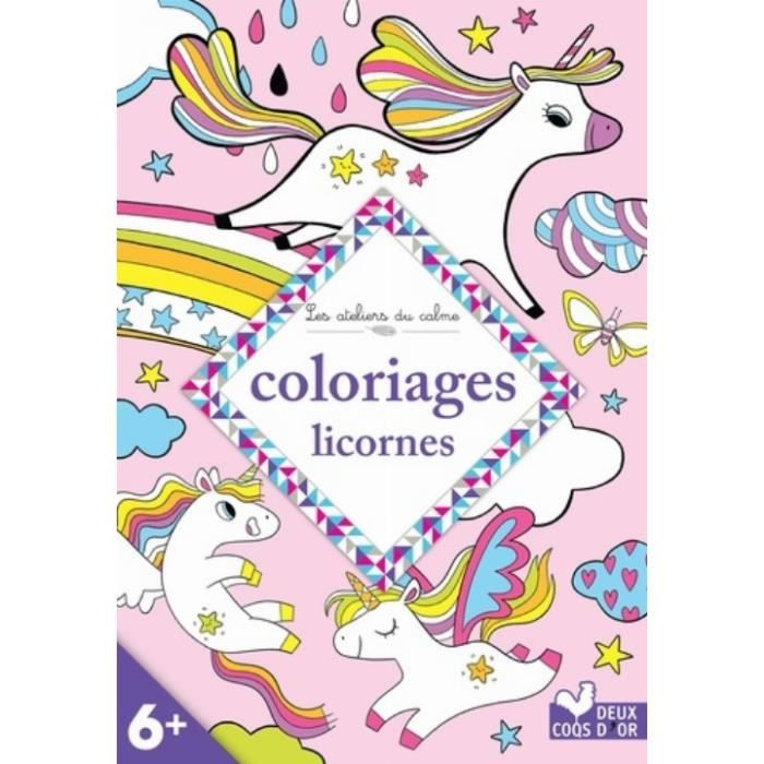 Coloriage Licorne Achat Vente Pas Cher