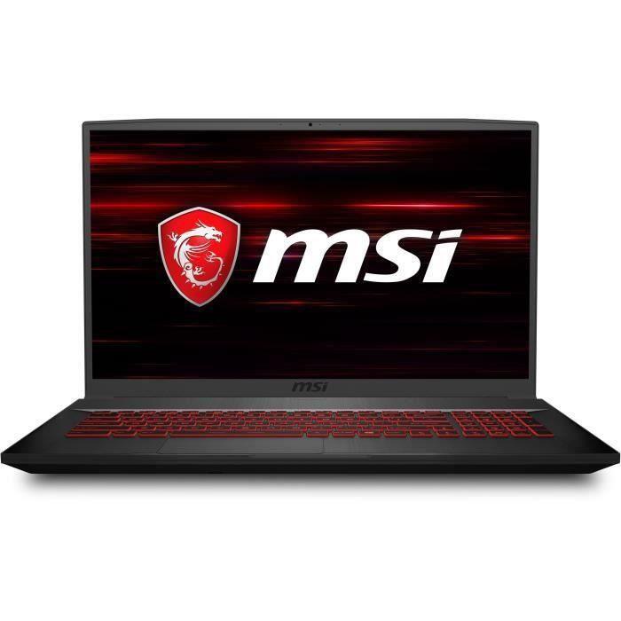 """MSI PC Portable Gamer - GF75 Thin 10SCXR-283FR - 17,3"""" FHD - Core i5 10300H - RAM 8Go - 512 Go"""