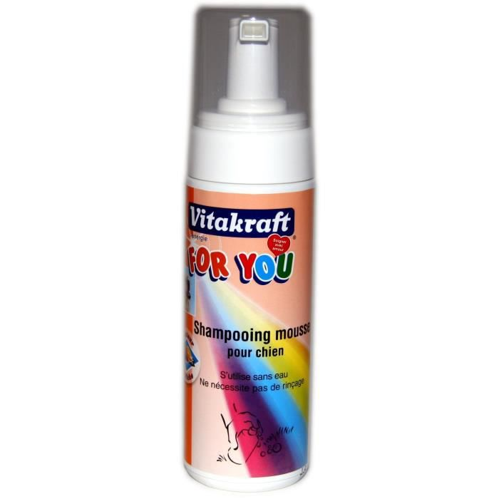 VITAKRAFT Shampoing mousse - Pour chien