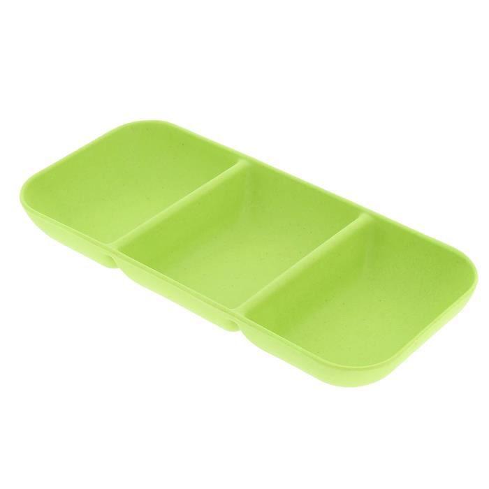 Set apéritif 3 compartiments - Vert