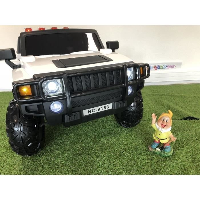 4x4 Hummer électrique 2 places 12V pour enfant - Achat   Vente ... 6fbab3ea1c9d