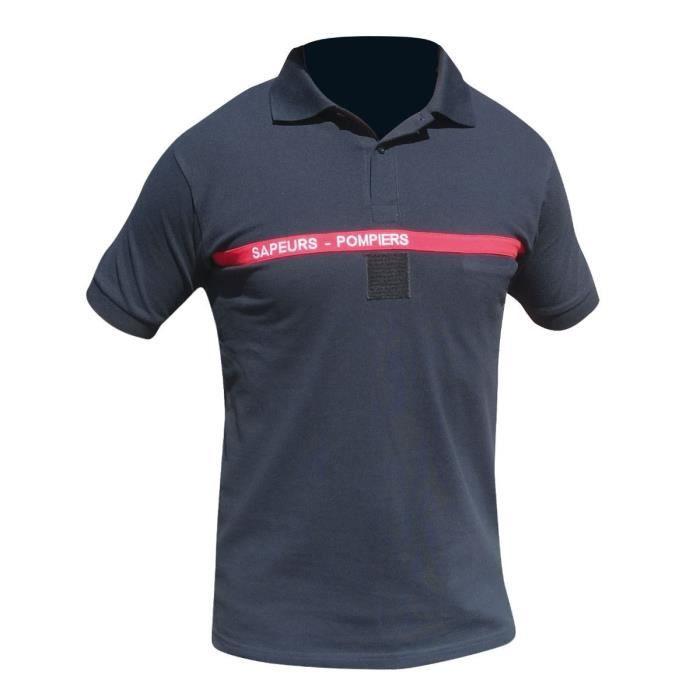 POLO SAPEURS POMPIERS (2XL) - Achat   Vente tshirt - polo ... 1bc5ada15182