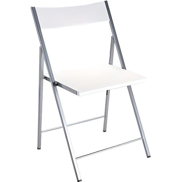 Chaise Pliante Blanche Bilbao