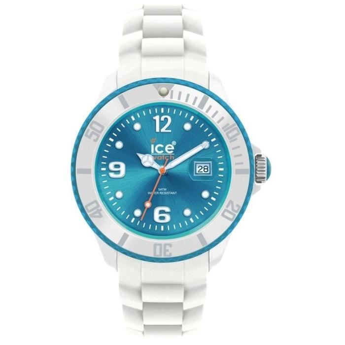 Montre Ice Watch Sili Turquoise SI.WT.B.S.11 Small Bleu, Turquoise ... 68330b20b64e
