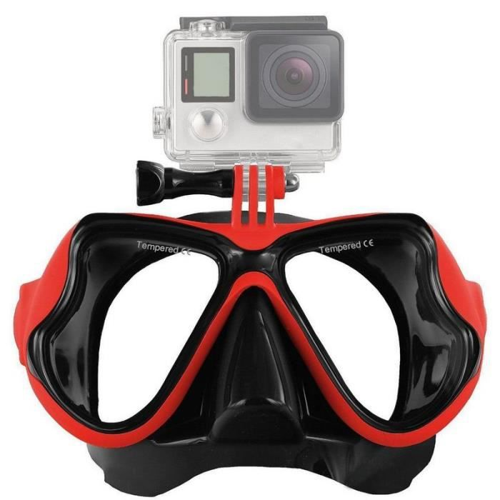 masque de plongee camera achat vente pas cher. Black Bedroom Furniture Sets. Home Design Ideas