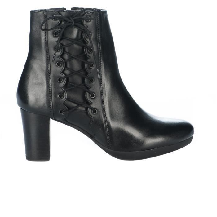 Boots femme - MIGLIO - Noir - 16635 5mfeuRW