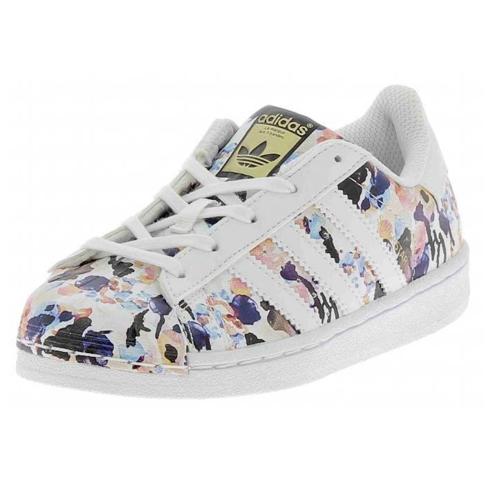 Sport Fille Adidas C Superstar De Chaussures Petite Kjltf1c3 Blanc We2D9IYEH