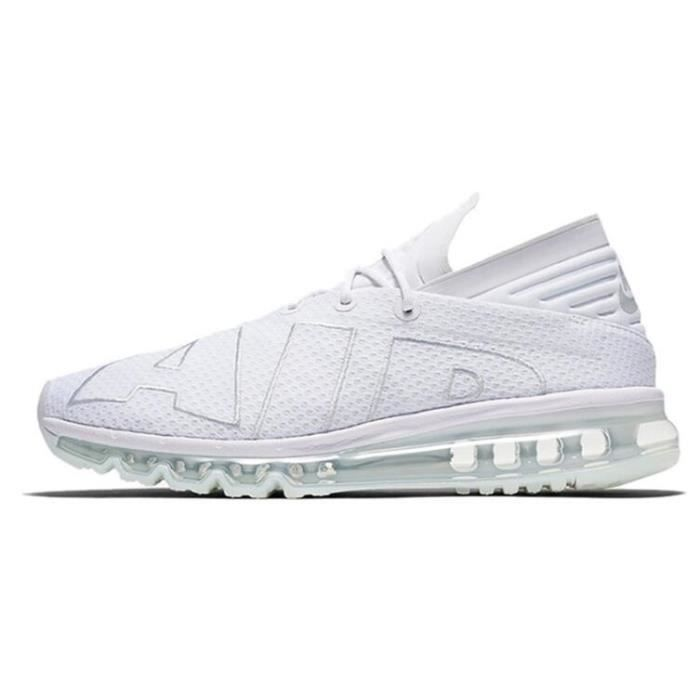 Homme Nike Air Max Flair Baskets Chaussures De Sport Blanc
