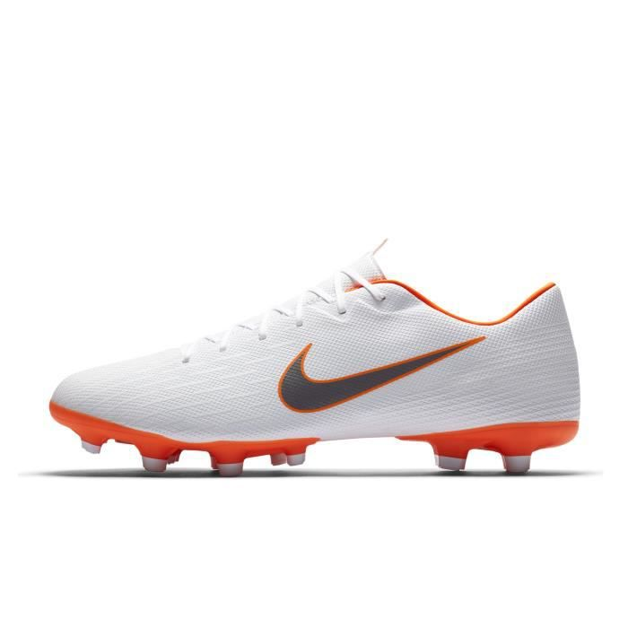 best sneakers 692cd 01f5b Chaussures football Nike Mercurial Vapor XII Academy MG Blanc - Prix ...