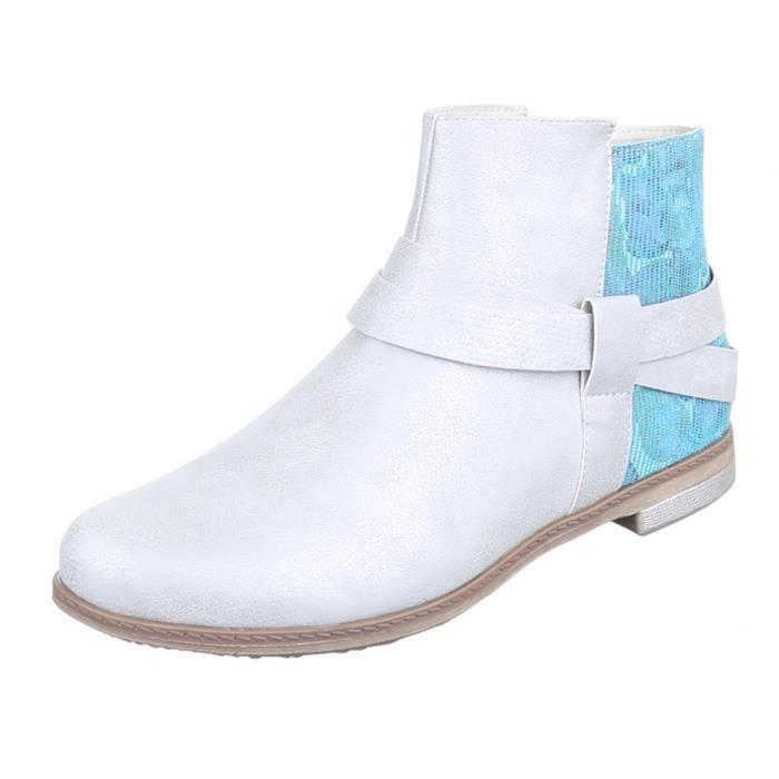 Femme bottillonn chaussure moderne bottes argentin g5eG3ne