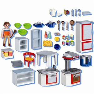 Cuisine playmobil achat vente jeux et jouets pas chers for Cuisine moderne playmobil