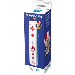 MANETTE JEUX VIDÉO Télécommande Wii U Plus Toad