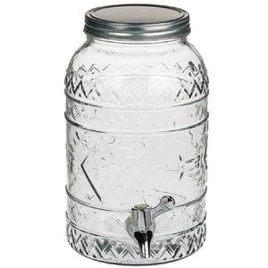 DISTRIBUTEUR DE BOISSON Distributeur en verre de boisson forme geometrique
