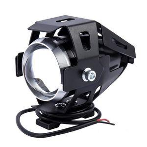 PHARES - OPTIQUES 2pcs 125W U5 LED Moto antibrouillard Feux Avant La