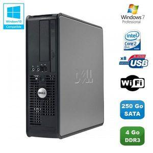 UNITÉ CENTRALE  PC DELL Optiplex 780 Sff Core 2 Duo E7500 2,93Ghz
