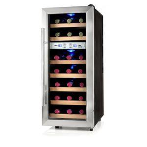 CAVE À VIN DOMO - Cave à vin de style pour 21 bouteilles - 2