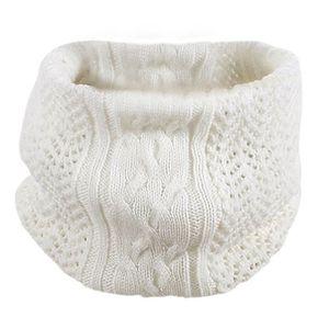 00d894ac3dc2 ECHARPE - FOULARD écharpe blanc décontracté hiver en laine modèle tr