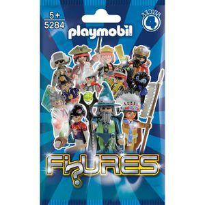 UNIVERS MINIATURE Playmobil-5284-Figures Garçons Série 4