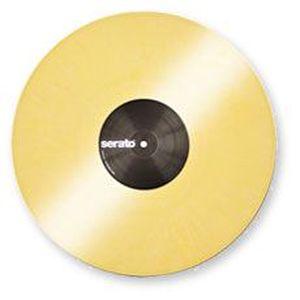 PLATINE DJ Logiciels de Mix Paire Vinyl Yellow PaireVinylY…