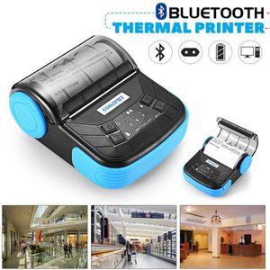 IMPRIMANTE GOOJPRT 80mm Bluetooth Imprimante Thermique Portab