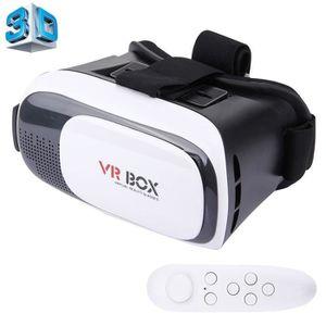 CASQUE RÉALITÉ VIRTUELLE VR BOX 2.0 Casque 3D VR Réalité virtuelle Universe