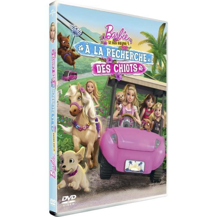 DVD DESSIN ANIMÉ DVD Barbie & ses soeurs - À la recherche des chiot