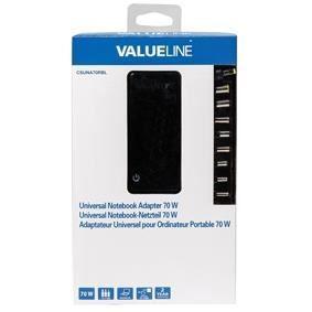 VALUELINE Adaptateur secteur universel pour notebook 15\