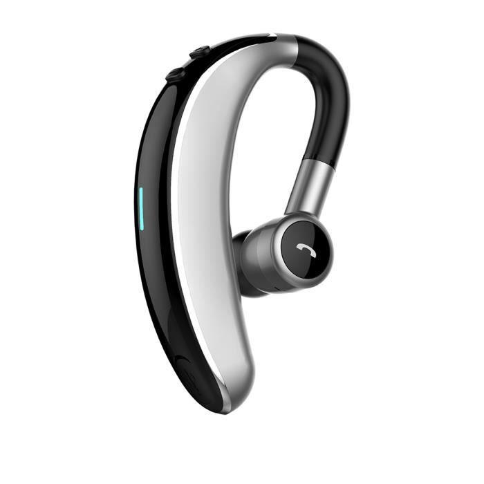 Oreillette Bluetooth Sans Fil Casque Écouteur Stéréo Sport Mains Libres Universel @yunsoel4745