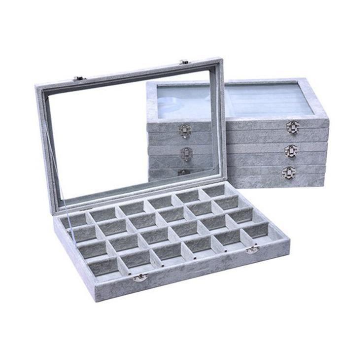 vente chaude en ligne 29945 15e53 BOITE DE RANGEMENT - BAC DE RANGEMENT Bureau Boîte de rangement cosmétiques  Soins de la peau Produits en plastique Support de